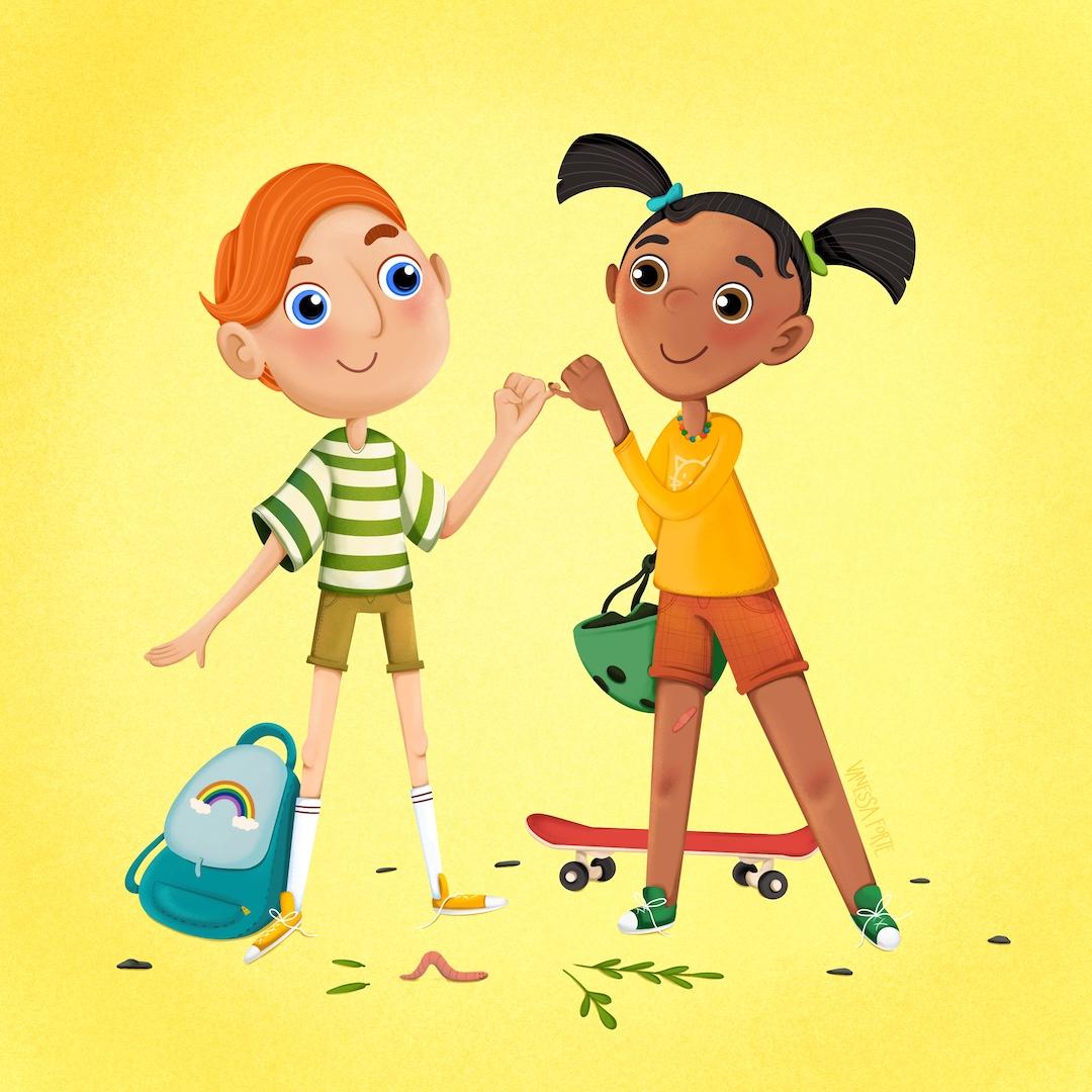 Childhood Week Illustration
