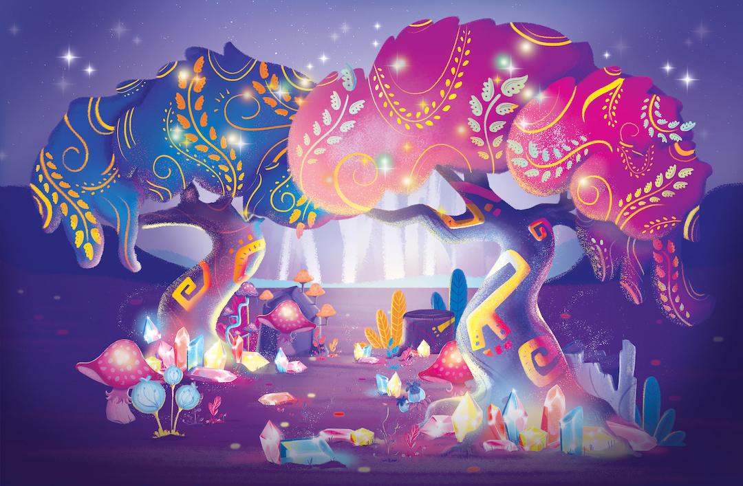 forte_vanessa_children's_illustration_mythical_forest