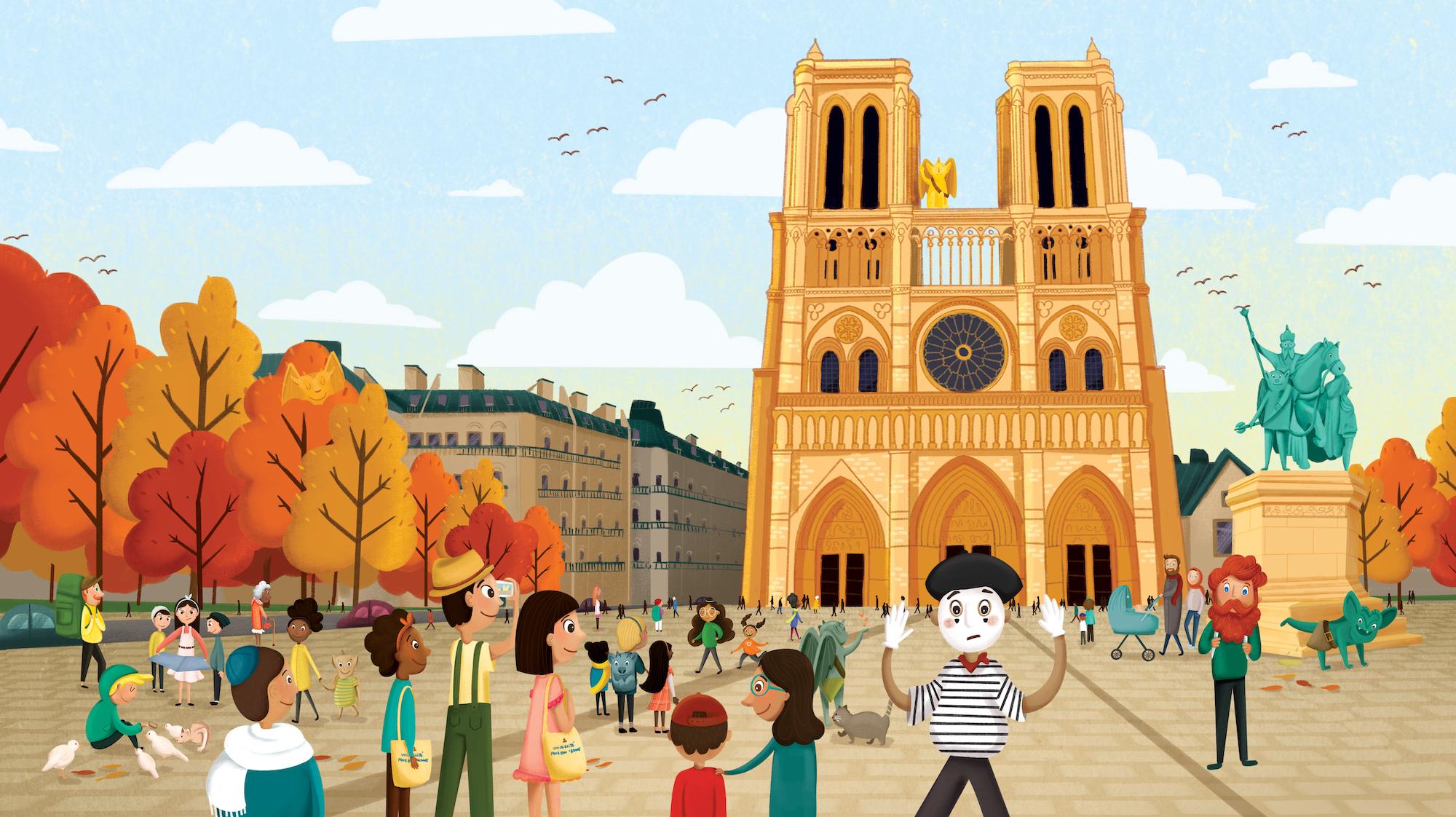 forte_vanessa_children's_illustration_paris_monsters